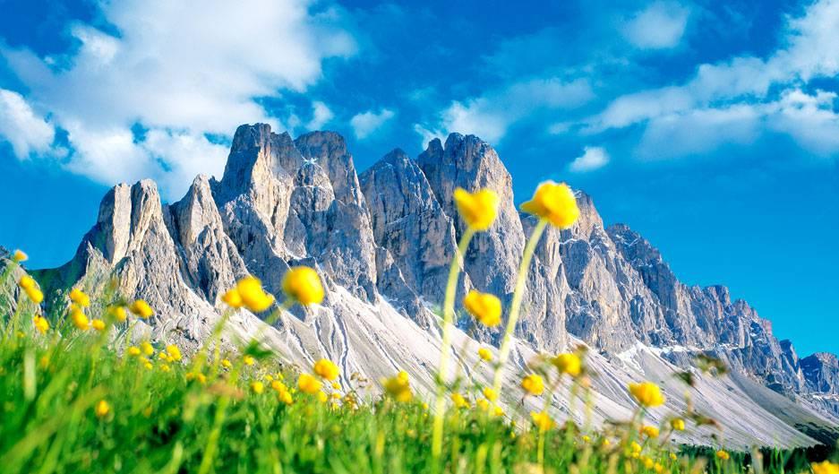Primavera sulle Dolomiti